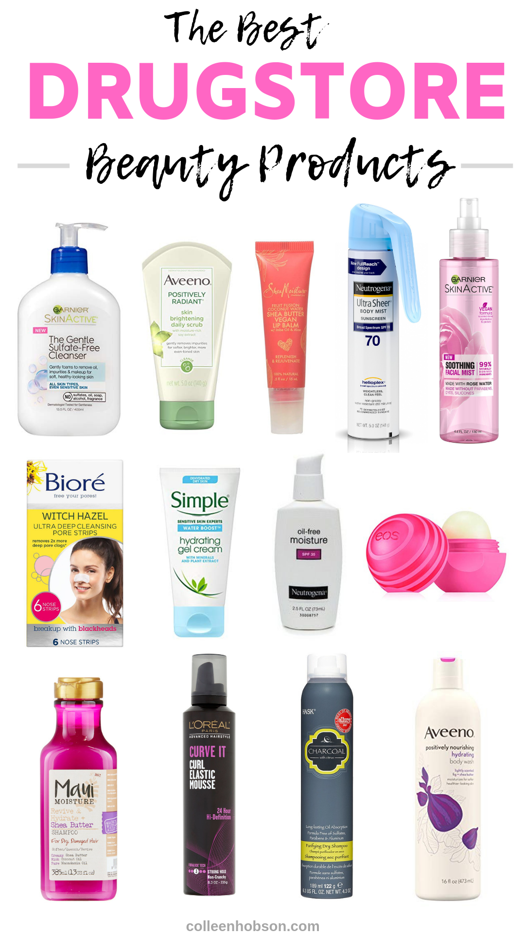 Amazing Drugstore Beauty Must Have Products - Colleen Hobson