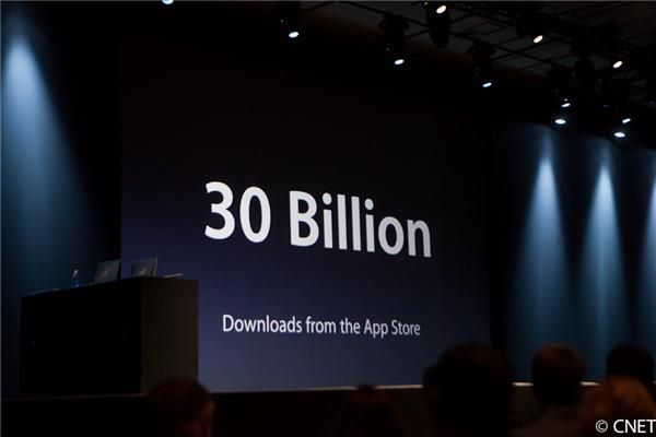 Apple announces 30 billion apps downloaded, 650,000 apps in App Store