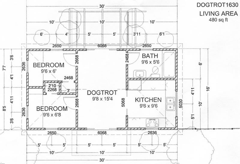 Dog trot house plans yahoo search results nic home Dogtrot house plan