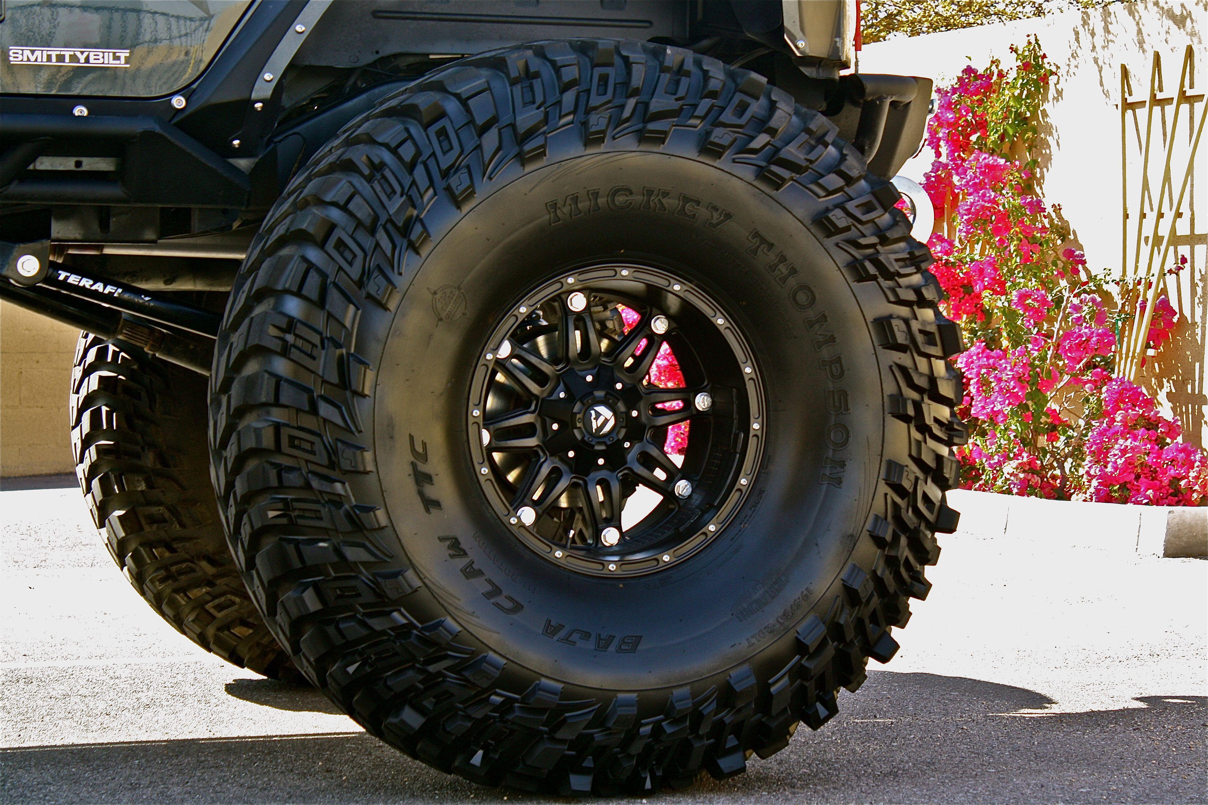 Jeep snow tire