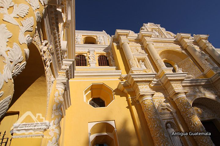 La Merced Church and Convent, Antigua Guatemala
