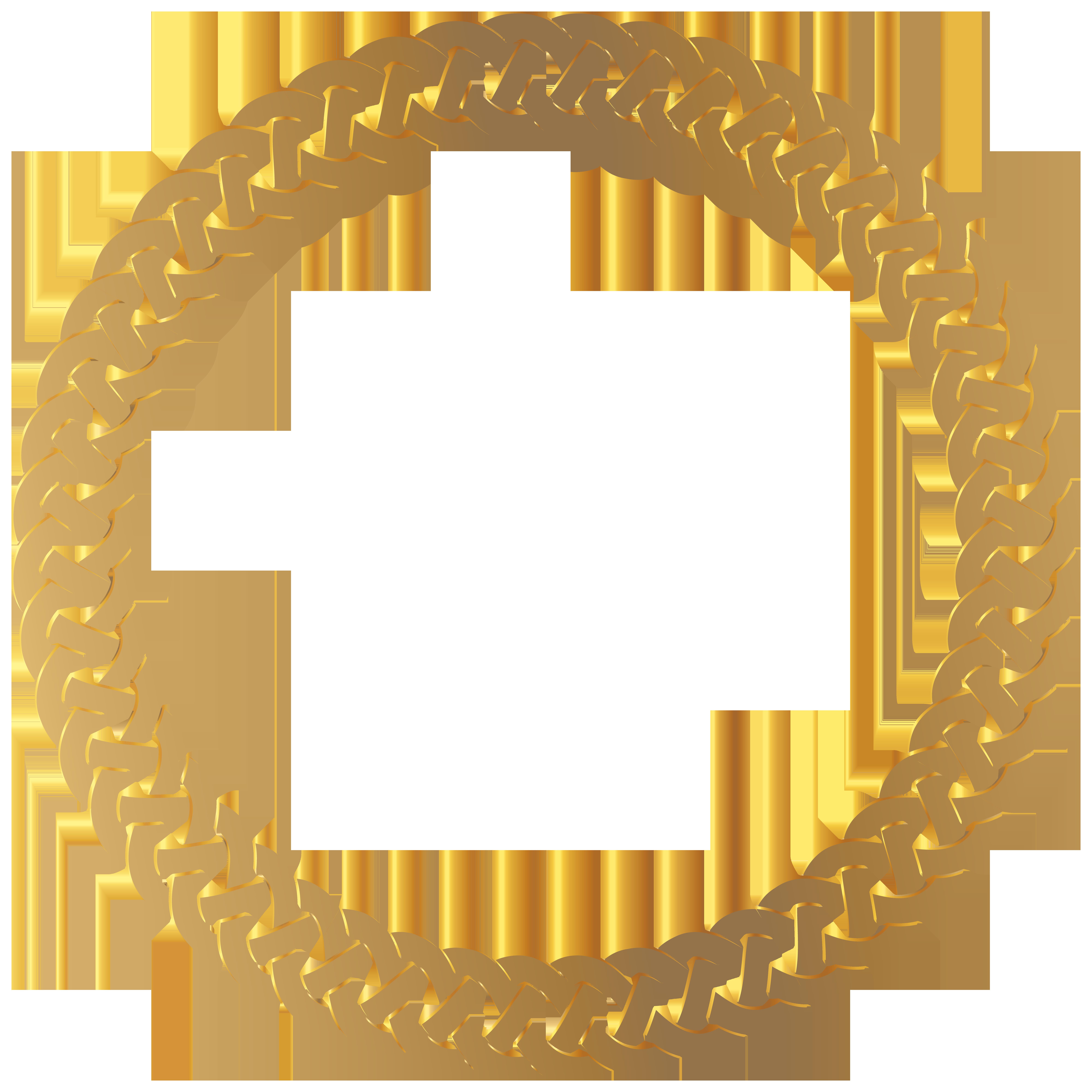 Golden Round Frame Border Transparent Png Clip Art Gallery Yopriceville High Quality Images And Transpa Gold Circle Frames Frame Border Design Round Frame