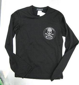 352c1c7e mastermind Japan】Swarovski Skull long sleeve Shirts | men's fashion ...