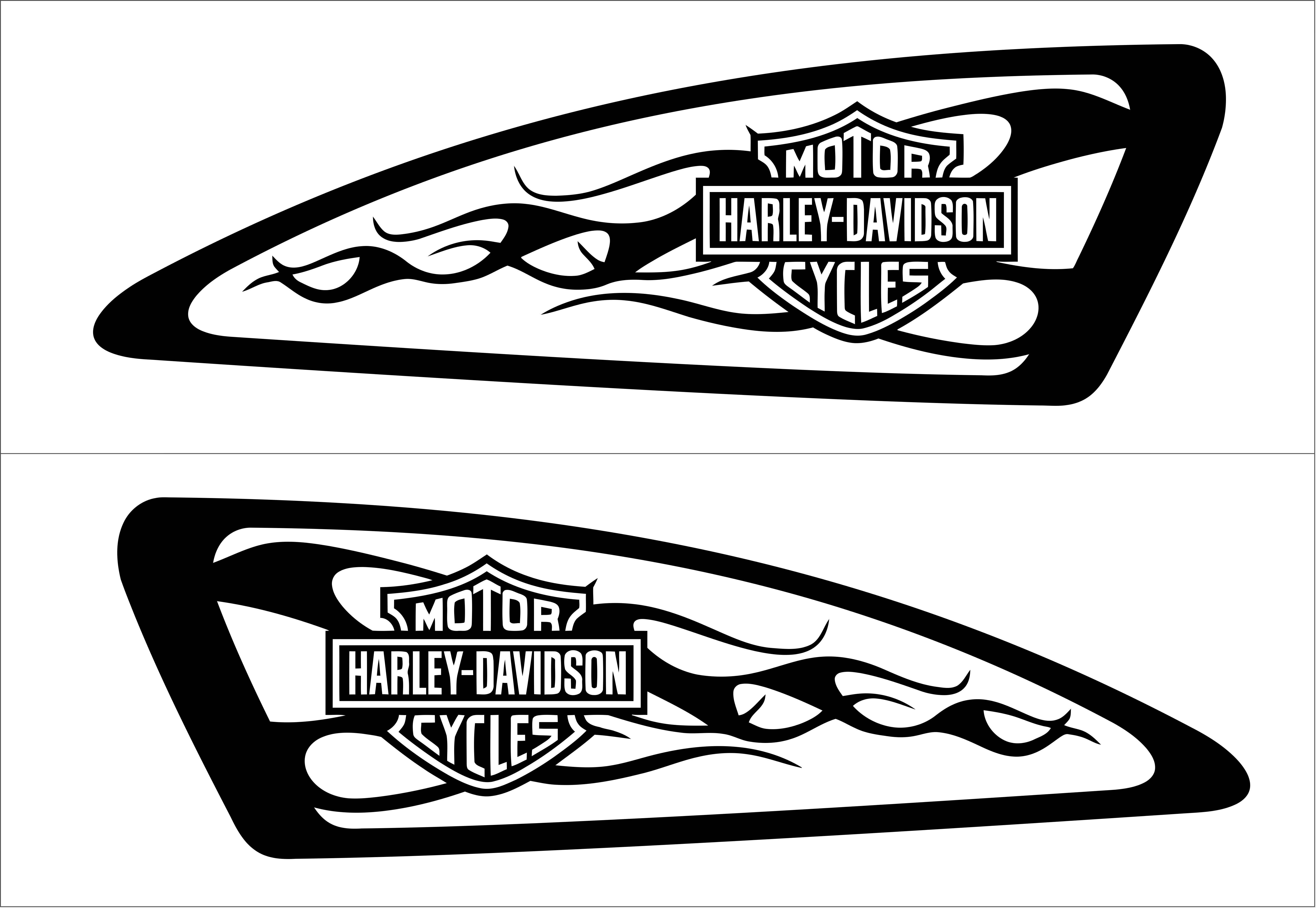 Sticker Harley Davidson Custom Stickers