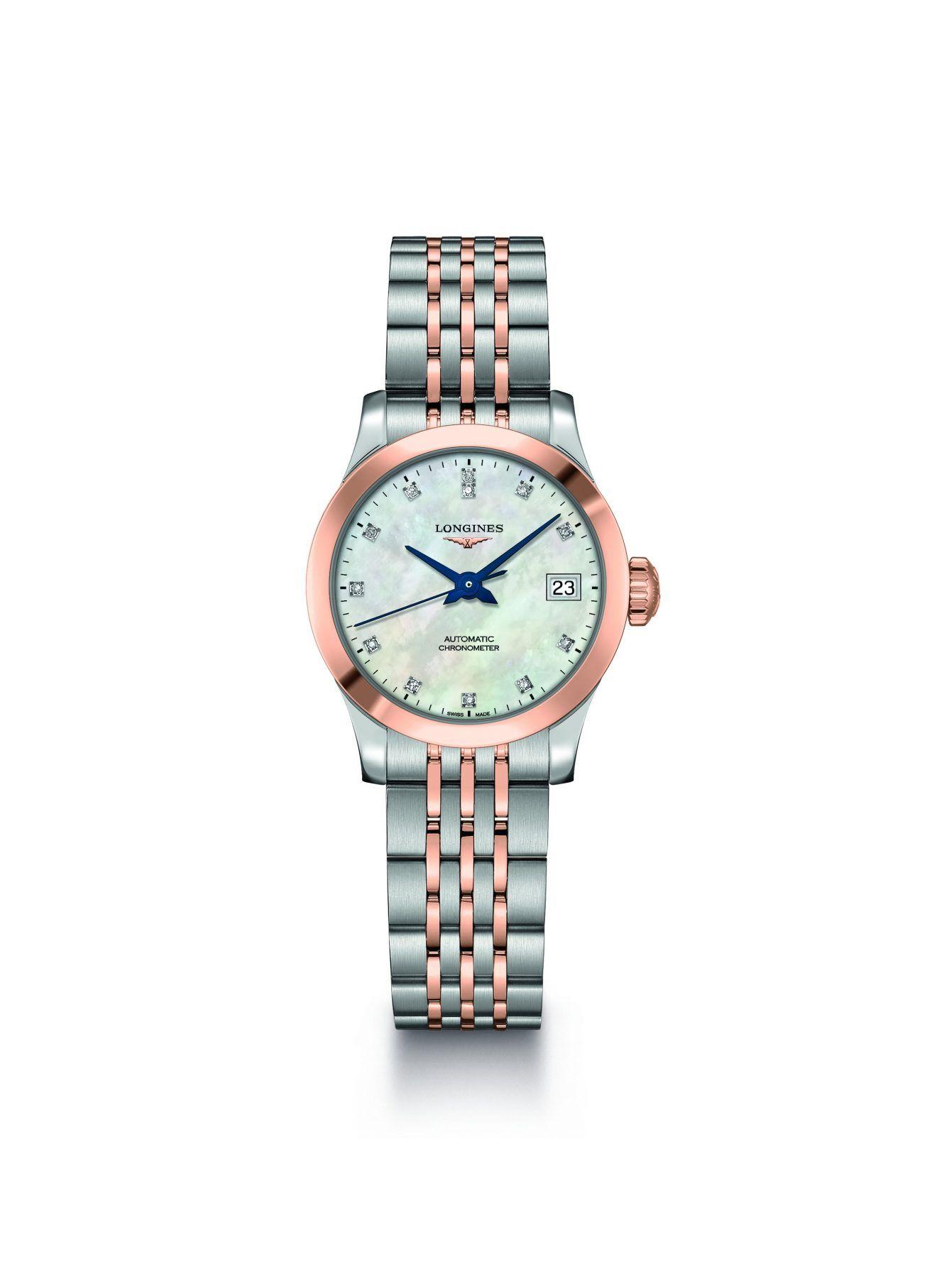 112f0c0b59c831 Longines pare d or sa collection Record   Actualité horlogère ...