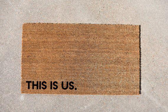This Is Us Doormat Family Doormat Cute Doormat Welcome Mat
