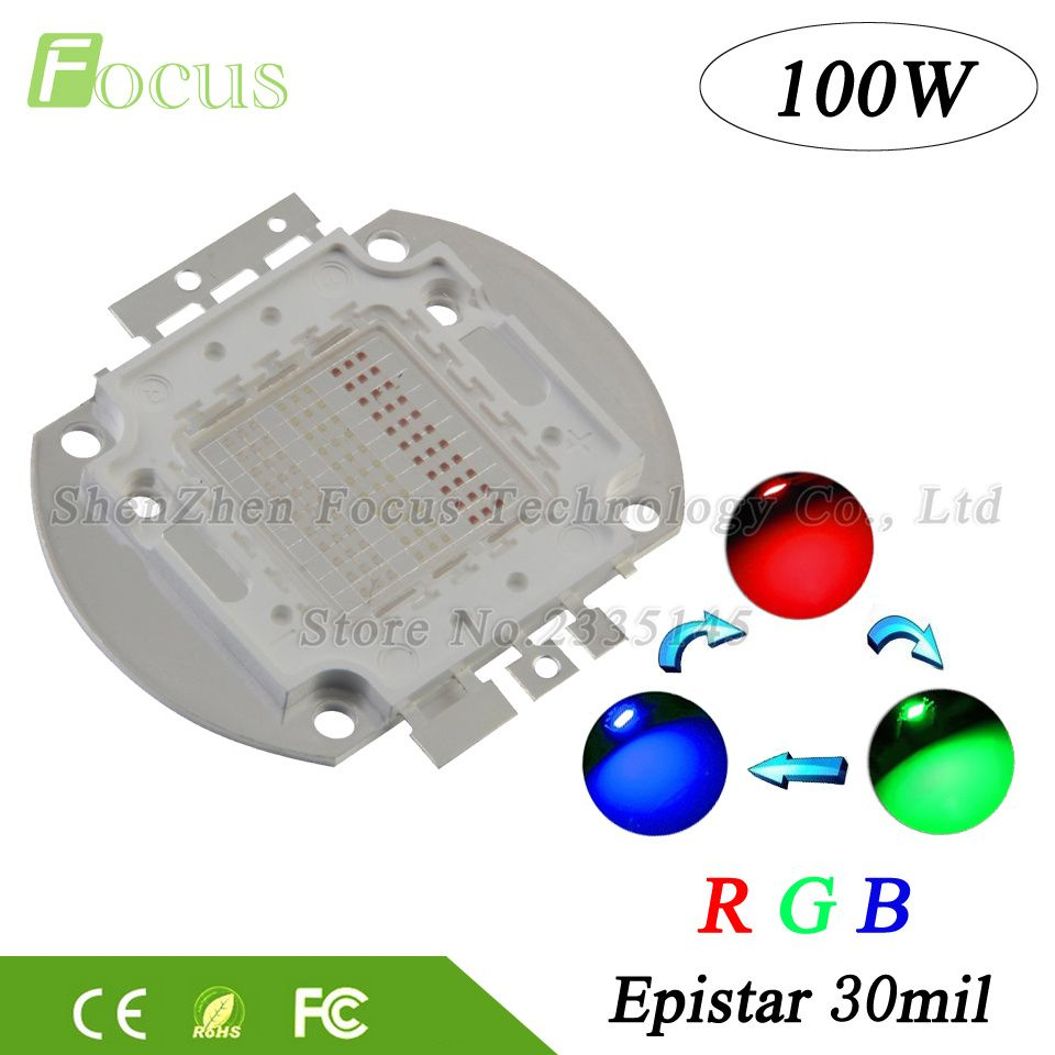 compare prices 1pcs high power led chip 100w cob beads 100 w rgb red