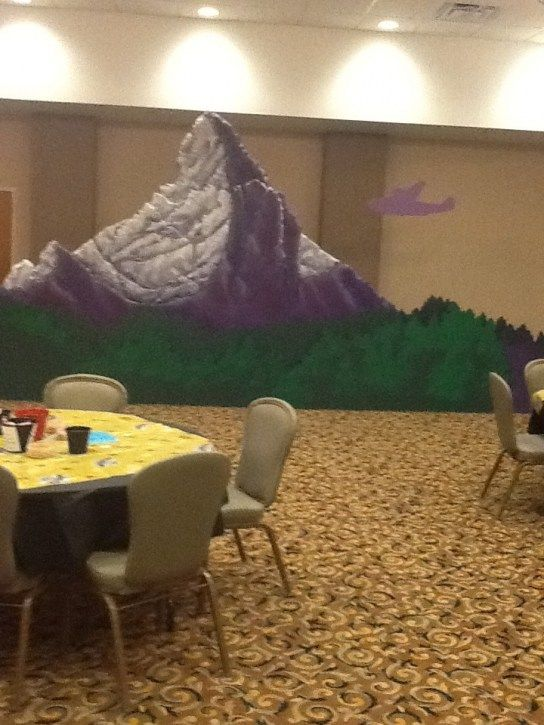 Mount Sinai DIY decoration for themed scenery. | Bible ...