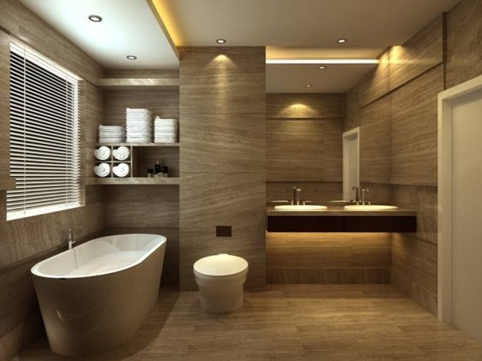 The Way For Perfect Ceiling lighting   BATHROOM Design Inspiration ...
