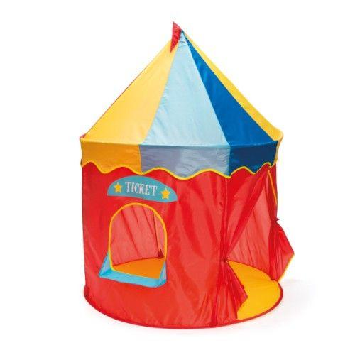 tente pop up xl circus oxybul pour enfant de 3 ans 5 ans oxybul veil et jeux anniversaire. Black Bedroom Furniture Sets. Home Design Ideas