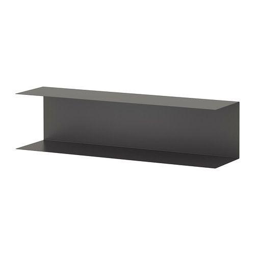 Botkyrka scaffale da parete bianco shelves decorative for Ikea lack mensola