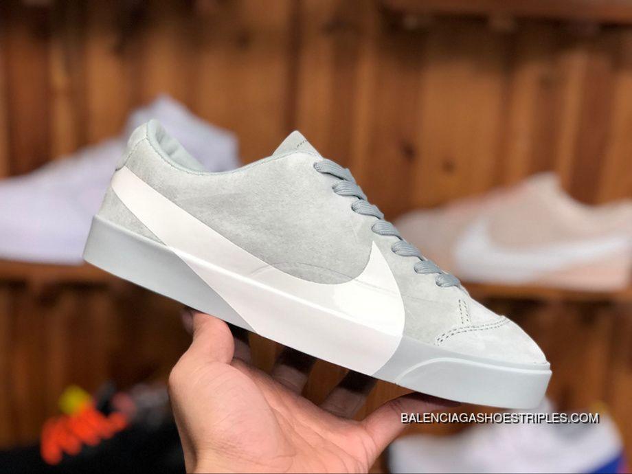 the latest 6ae57 612d9 Nike Blazer City Low SD AV2253 700 Grey Green White Unisex Skateboarding  Shoes For Sale