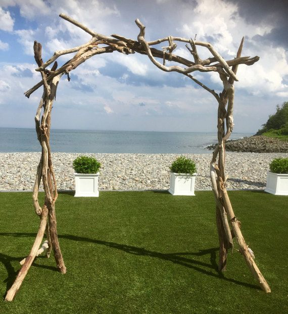 Diy Beach Wedding Arch: Arbor - Wedding Ceremony Arbor