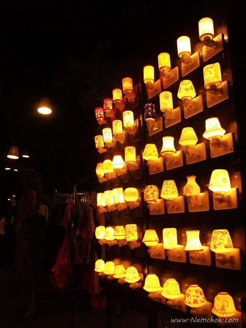 Art for lamp - Cicada Market Huahin – Thailand