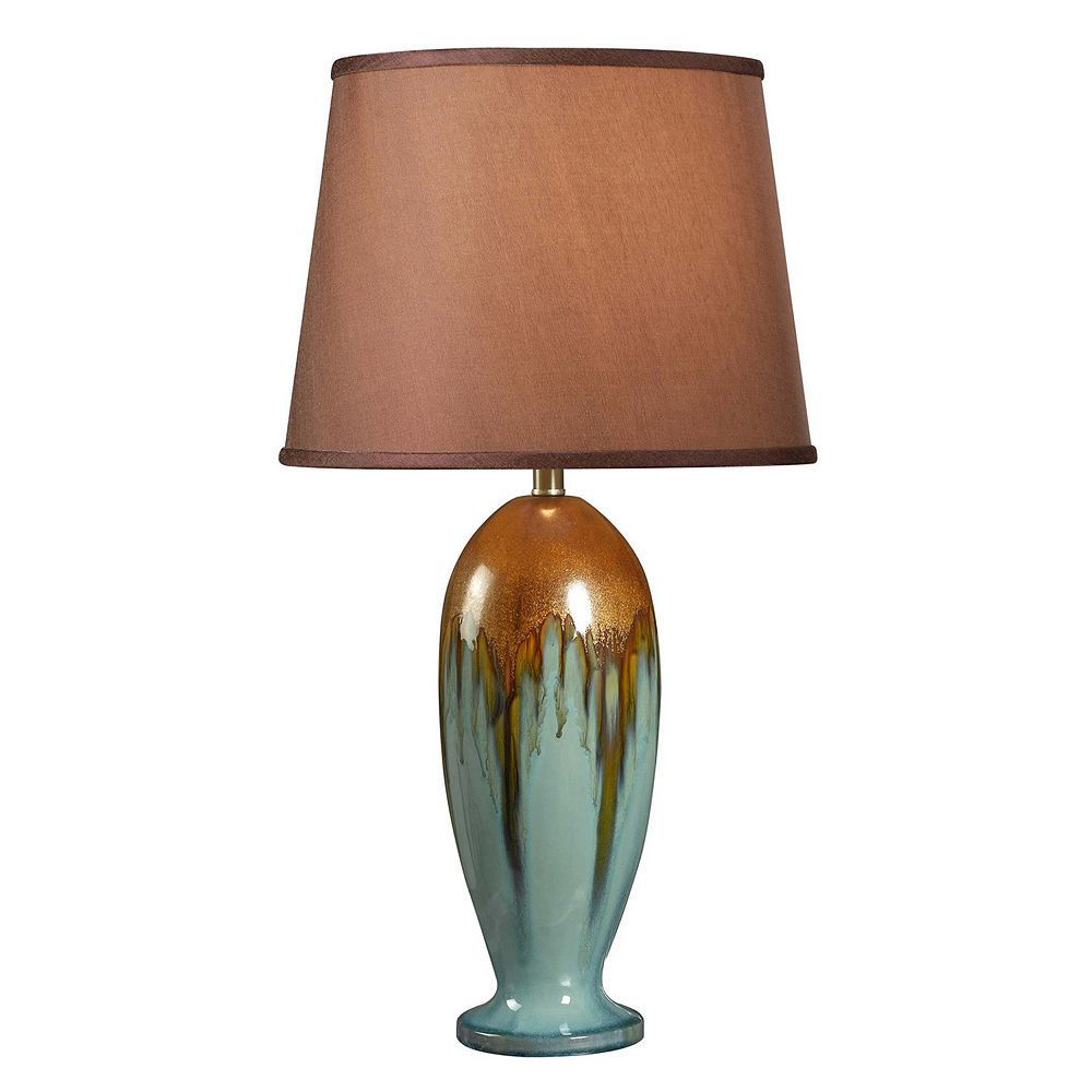 Tucson Table Lamp Table Lamp Teal Table Lamps Ceramic Table Lamps