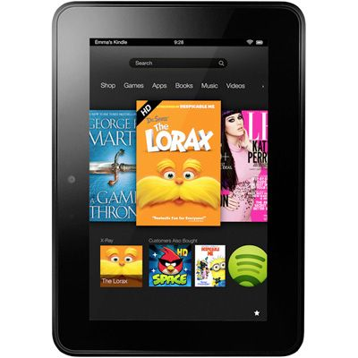 Kindle Fire HD delivers rich color and deep contrast from