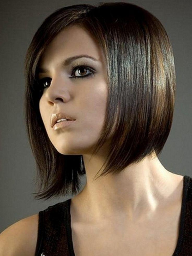 Wondrous 1000 Images About Mid Length Angled On Pinterest Angled Bob Short Hairstyles Gunalazisus
