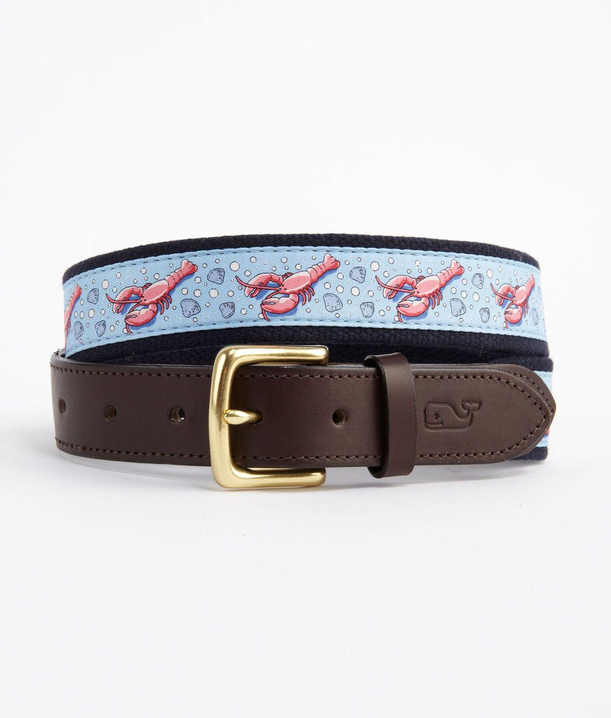 Lobster Canvas Club Belt