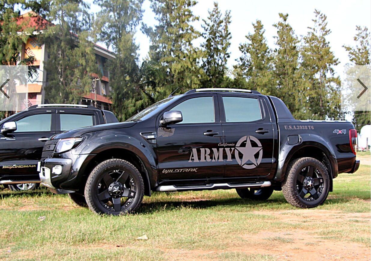 Ranger Army Ford Ranger Ford Ranger Wildtrak Dodge Power Wagon
