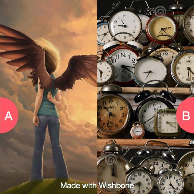 Be able to fly or control time? Click here to vote @   wishbone