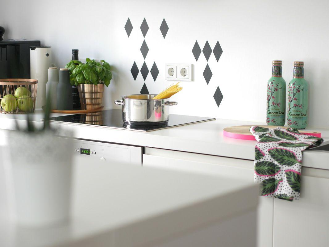 Wohnideen weiße küche weiße möbel inspiration minimenschleininspiration