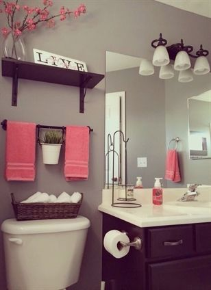 How to adopt rattan at home? | Bathroom toilet decor ...