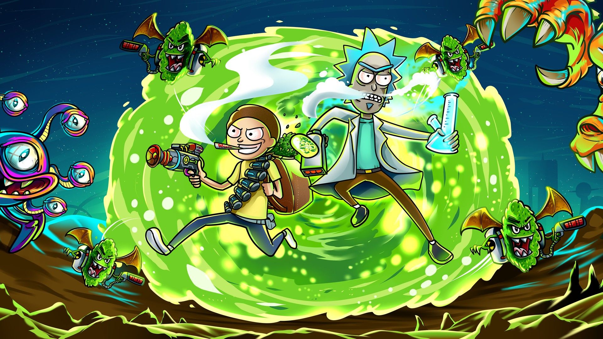 Movie Wallpaper Rick and Morty - Best Movie Poster ...