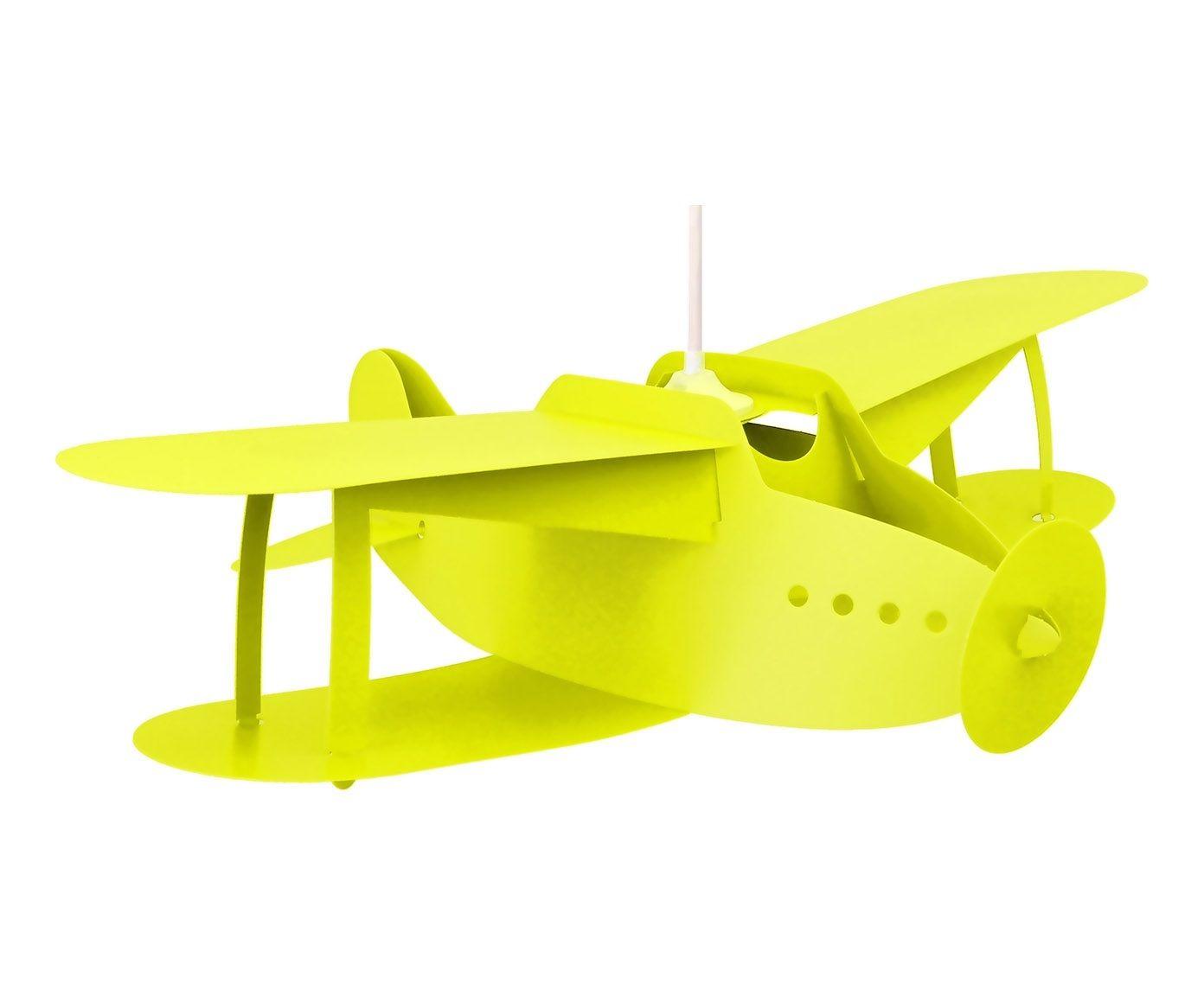 Suspension AVION priplak jaune genªt L50