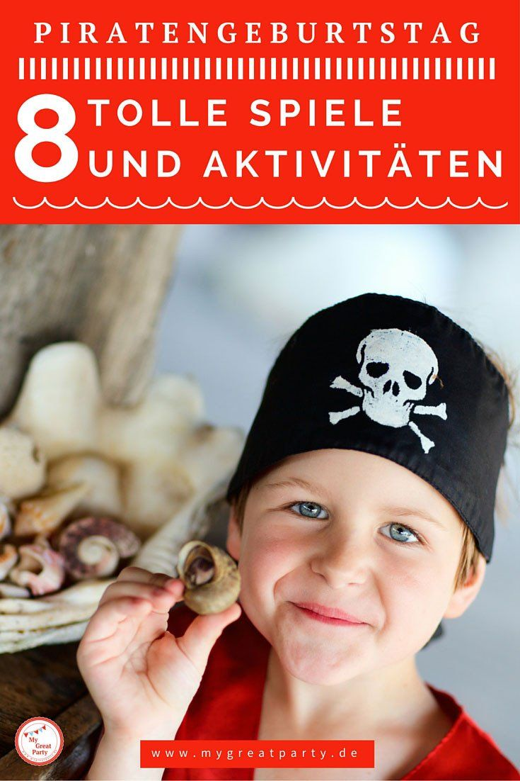 Photo of 8 ideas for games and activities for the pirate birthday