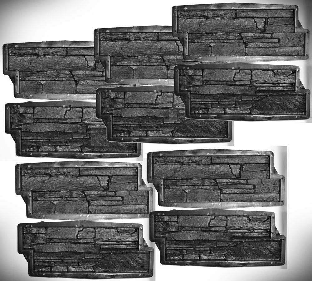 Gießformen Beton details zu 10 formen gießformen für beton gips wand klinker 1