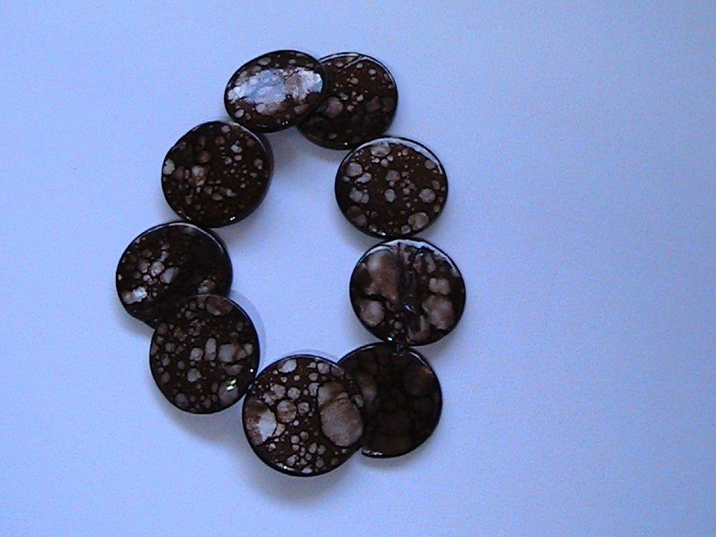 brown shell bracelet SOLD