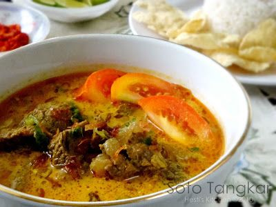 Hesti S Kitchen Yummy For Your Tummy Soto Tangkar Resep Daging Sapi Resep Masakan Resep