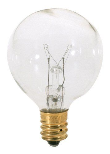 Satco S3844 120v Pear Candelabra Base 10 Watt G12 5 Light Bulb Clear 5 Pk Bundle You Can Get Additional Deta Light Bulb Globe Light Bulbs Candelabra Light