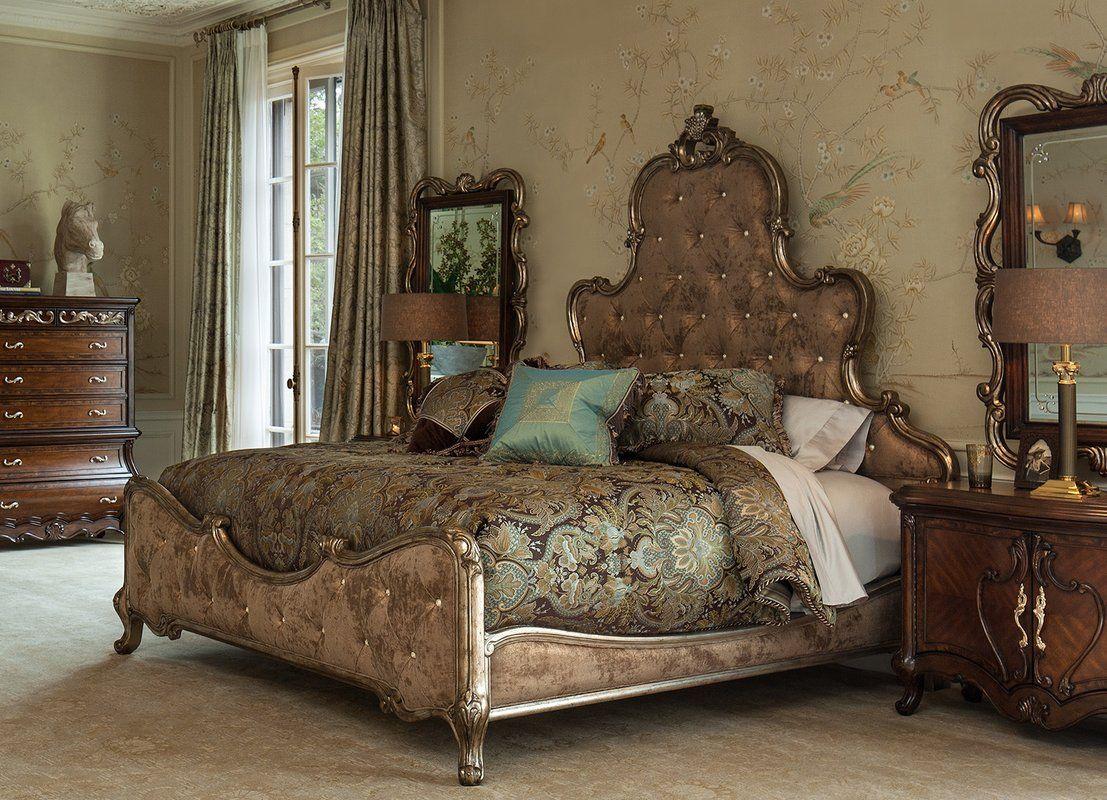 platine de royale platform configurable bedroom set with