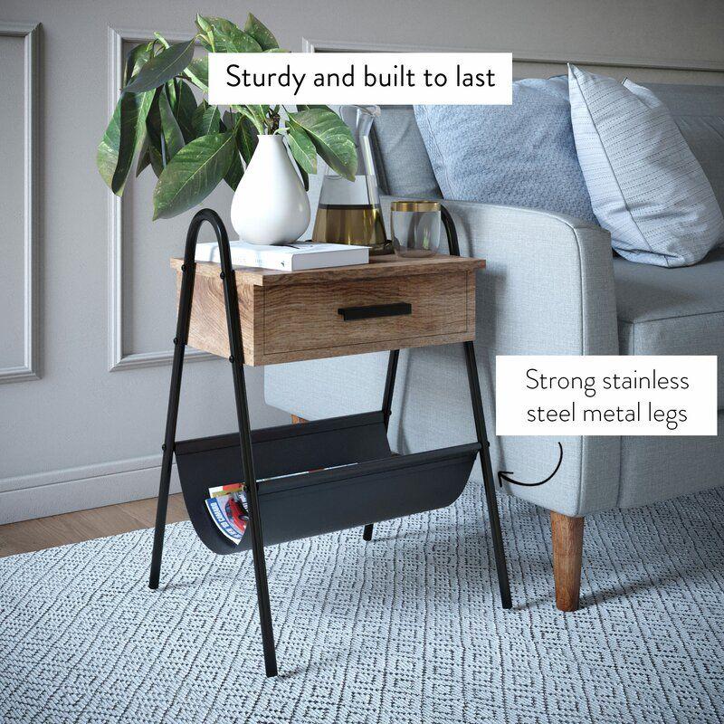 Chatfield 1 Drawer Nightstand in 2020 Furniture