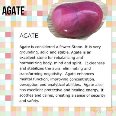 Pink Agate Crystal Spiritual Crystals Meditation Crystals Crystal Uses
