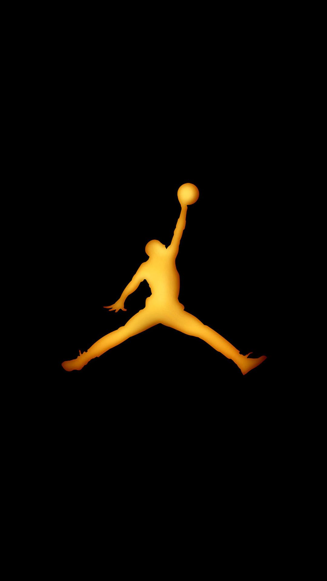 Basketball Sport Layup Outline Iphone 8 Wallpapers Jordan Logo