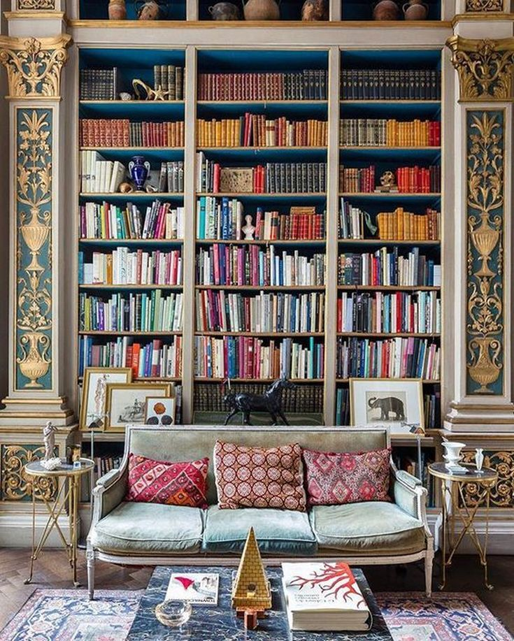 24 Stunning Home Library Design Ideas Home Library Design Home Libraries Home Decor