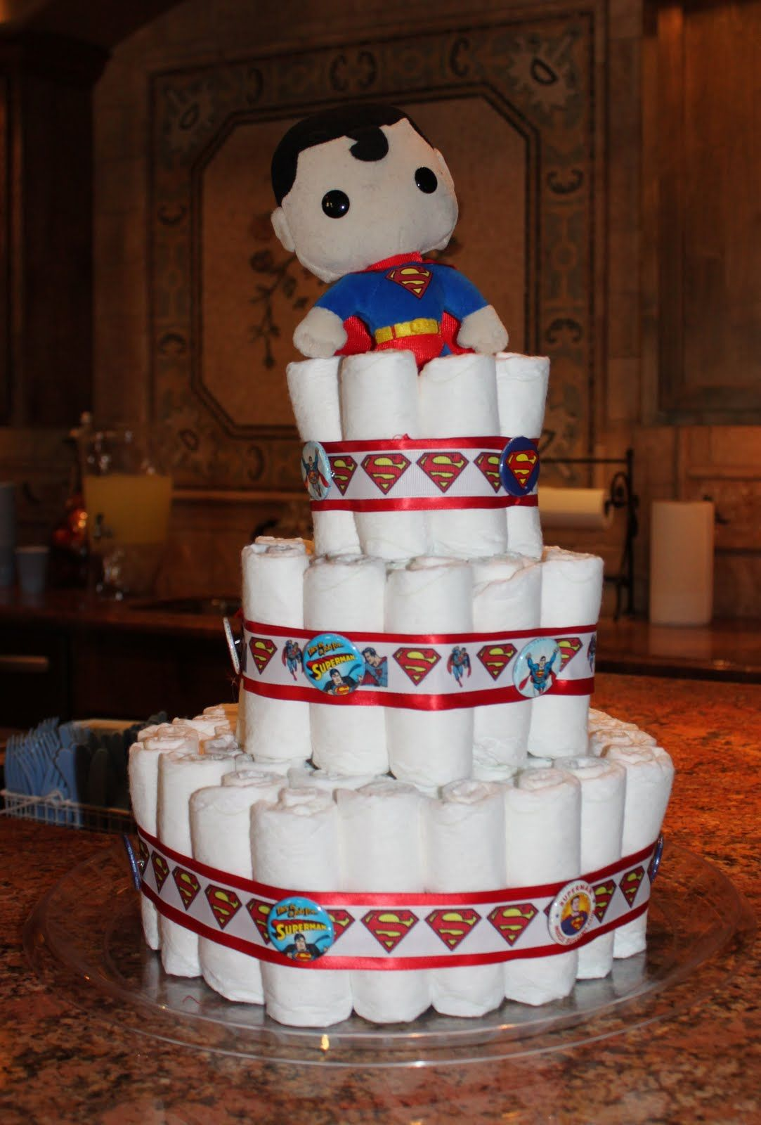 Abbyu0027s Baby Shower. Superman ...