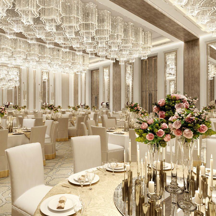 Dubai Taj Ballroom Wedding