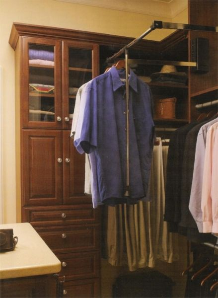 Wardrobe Lifts Can Be A Great Closet Organizing Solution