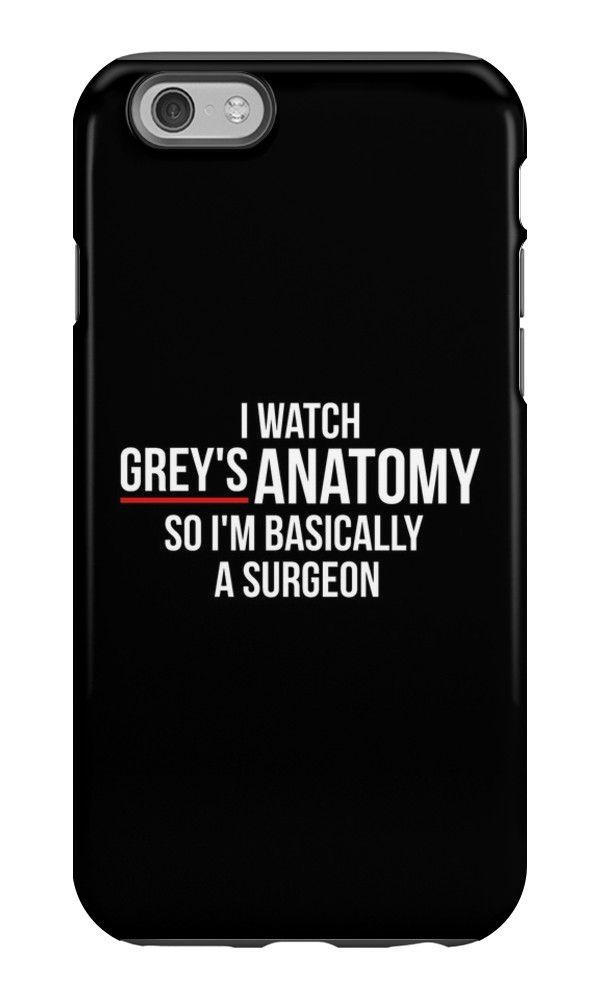 I Watch Grey\'s Anatomy So I\'m Basically A Surgeon - Black by ...
