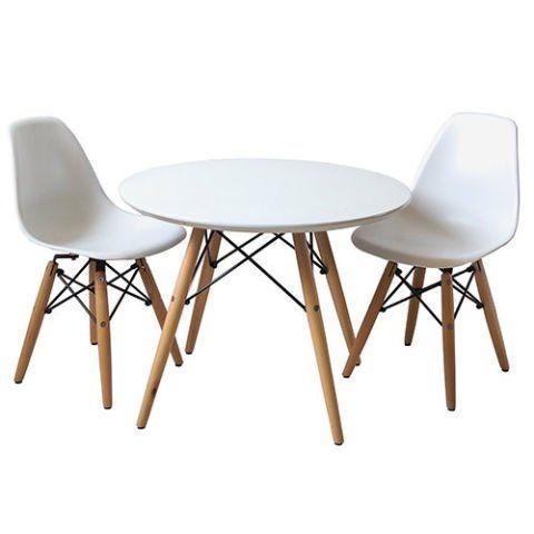 harriet bee homer 3 piece round table and chair set wayfair