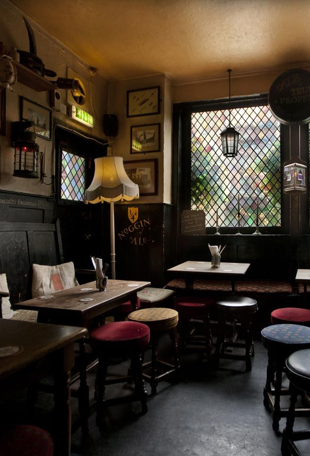 Delicious Interiors With Natural Materials And Gorgeous: Oldest Pub On The Thames. The Pub And Restaurant Offers