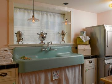 REFURBISHED PORCELINE KITCHEN SINKS | Vintage Porcelain Sink Design Ideas,  Pictures, Remodel, And