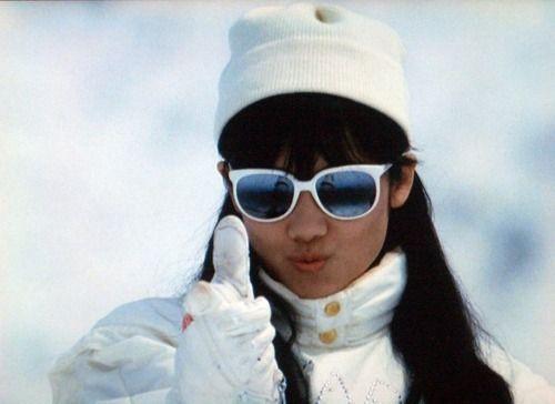 原田知世:「私をスキーに連れてって」