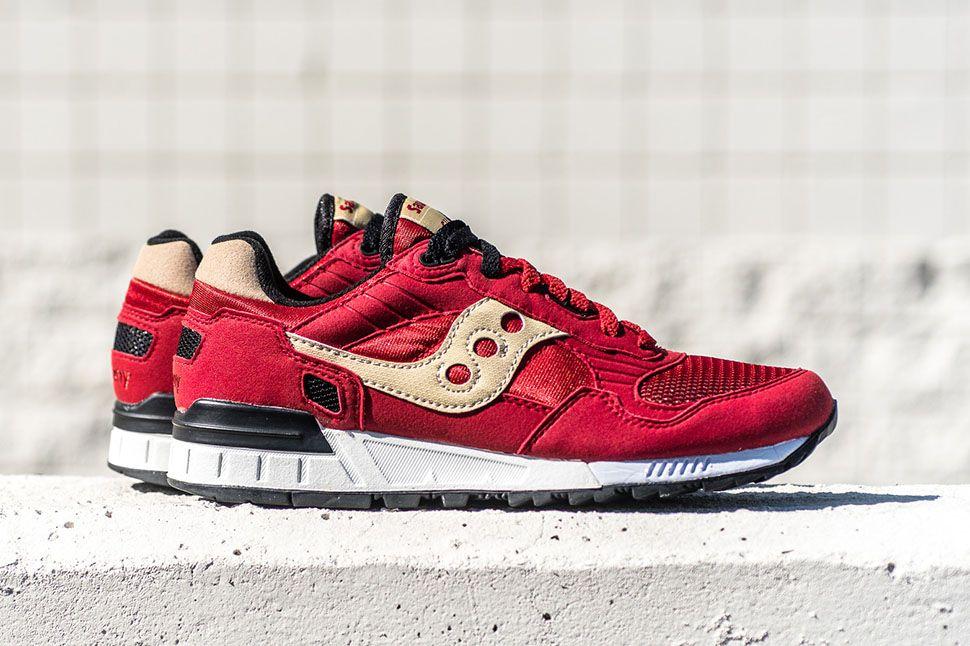 Shadow RedcreamSneakers Retro Saucony 5000 Style Originals JcTF13lK