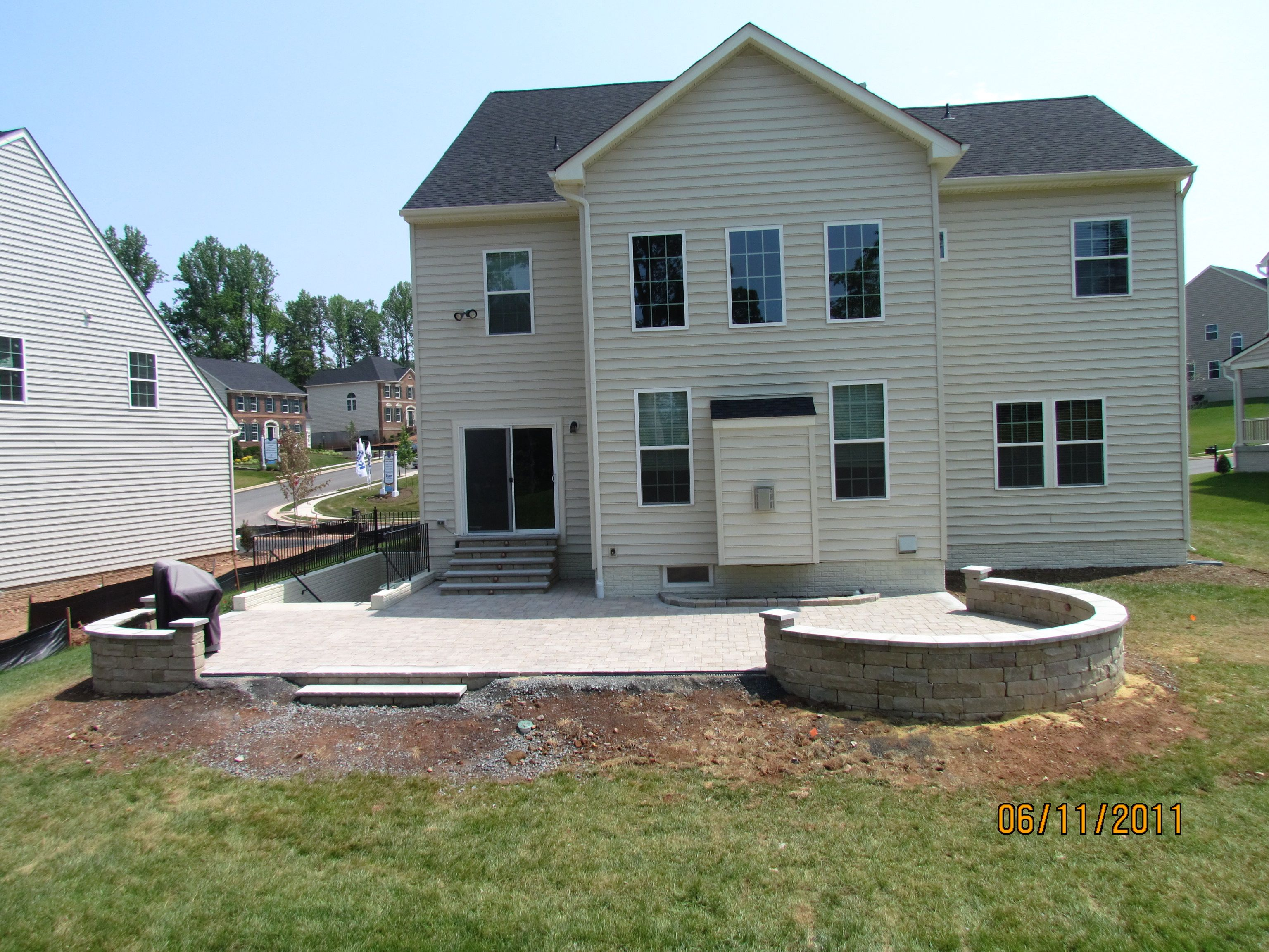 concrete patio designs layouts smokey beige concrete patios cornerstone concrete designs orrville oh patio layout - Designing A Patio Layout