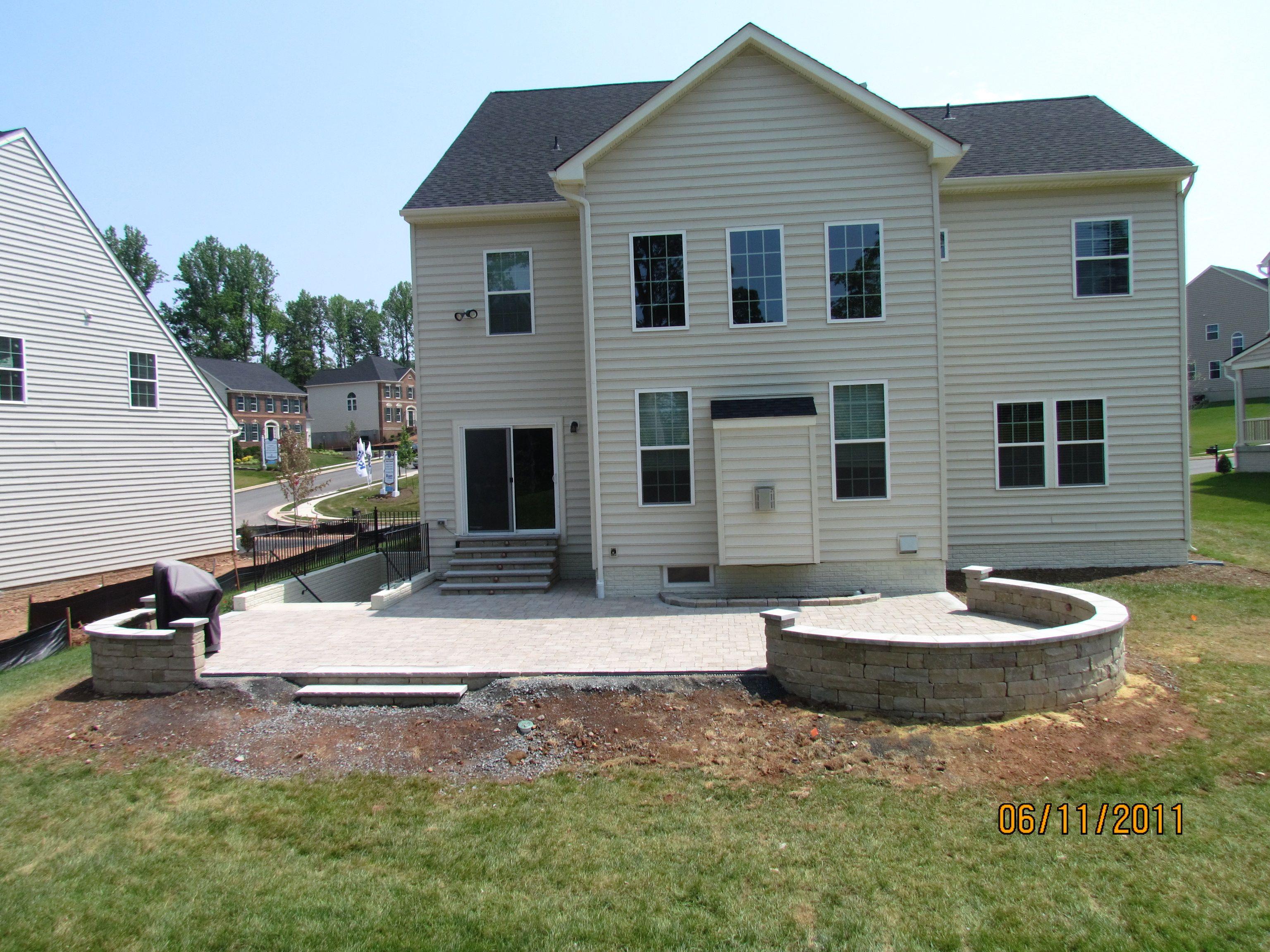 Patio layout   Patio layout, Backyard patio designs, Patio ... on Garden Patio Designs And Layouts id=69667