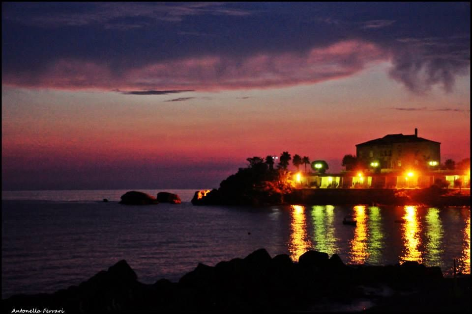 sunset - Belvedere, Calabria - Italy